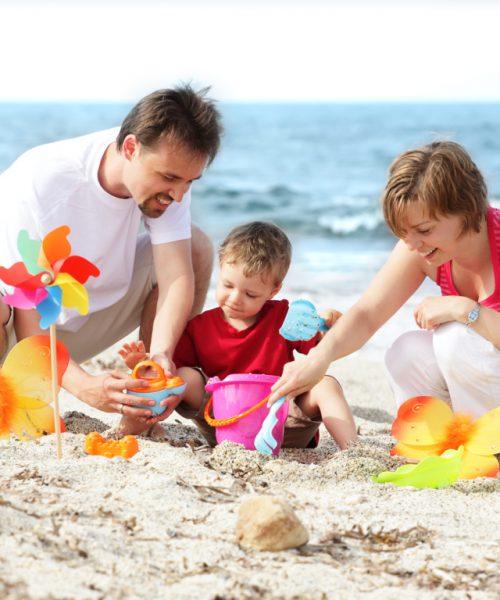La Famiglia in vacanza